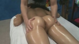 Sexy 18 year old gets screwed hard by her massage therapist