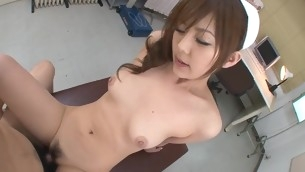 Nasty bitch with precious forms of body is bouncing mainly fruitful cock